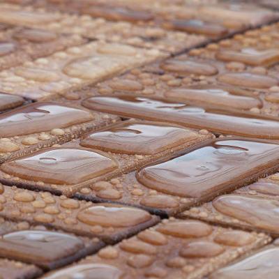 Platelage de caillebotis en bois spécial extérieur