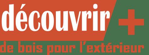Petite icône texte pour découvrir plus d'essences de bois d'extérieur.