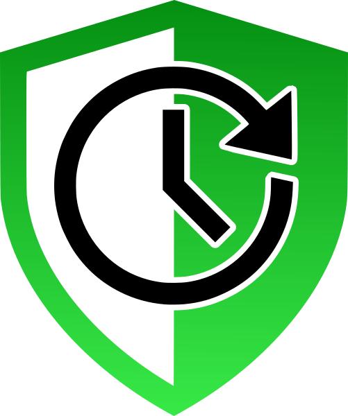 Icône symbole de terrasse solide et durable dans le temps.
